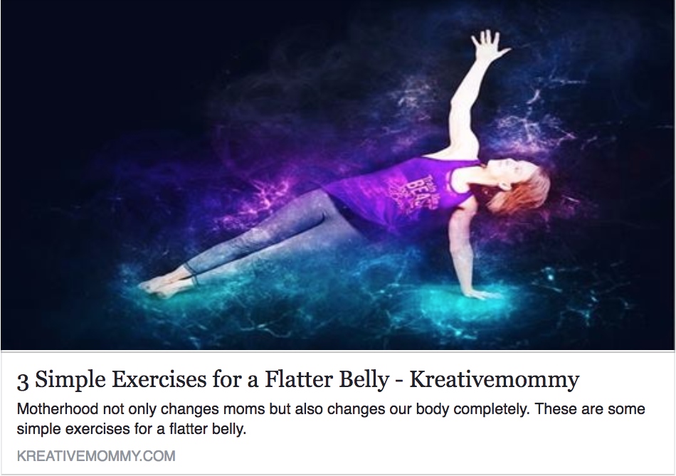 3 Simple Exercises for a Flatter Belly