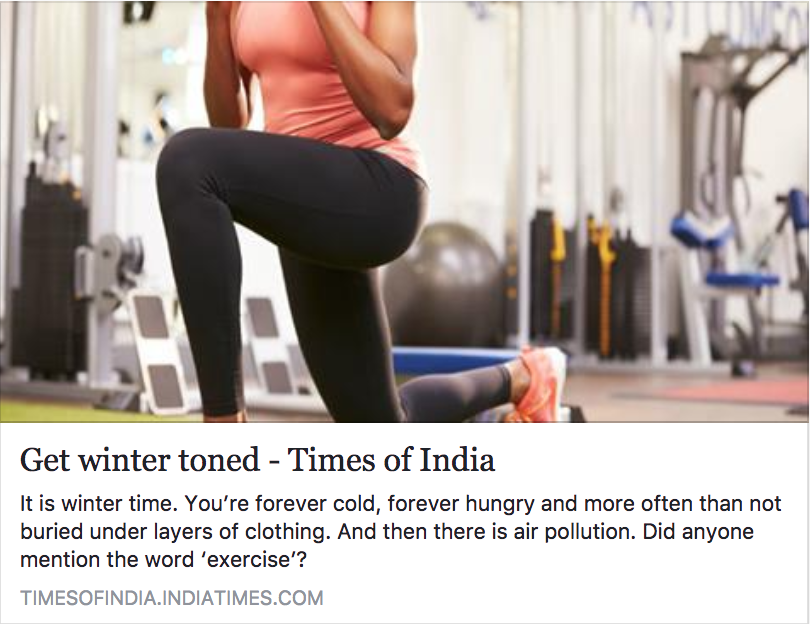 Get winter toned
