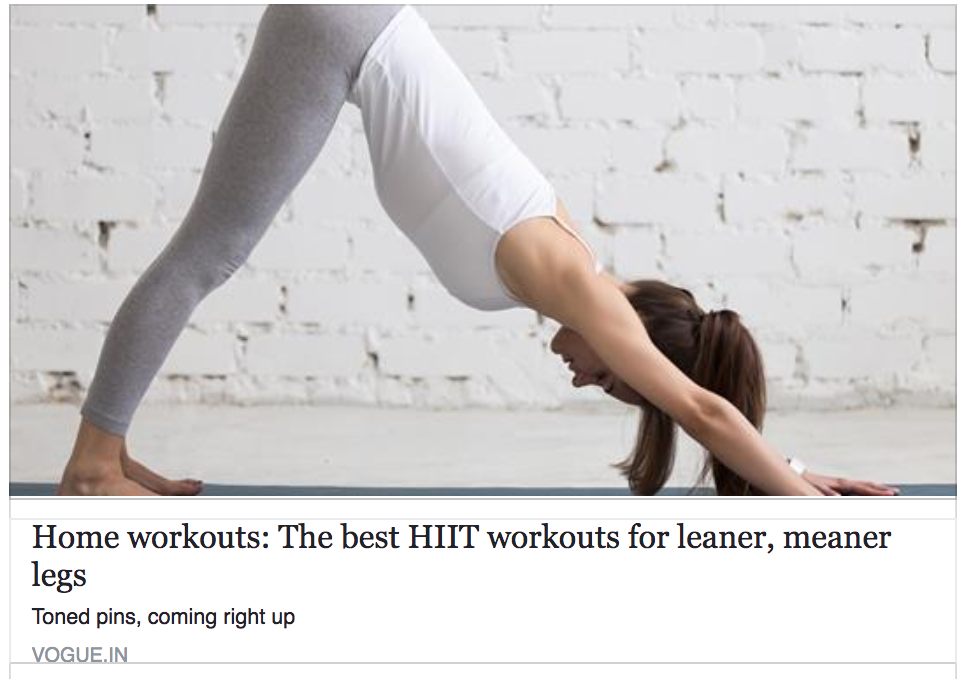 Home workouts: The best HIIT workouts for leaner, meaner legs