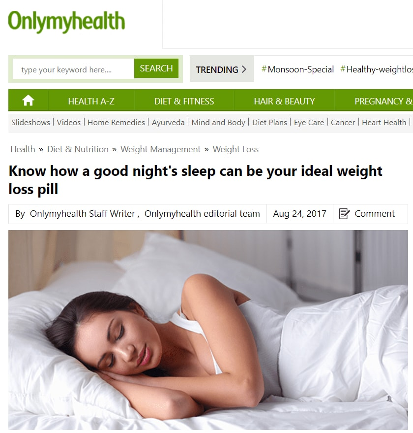 Know how sleep-only health