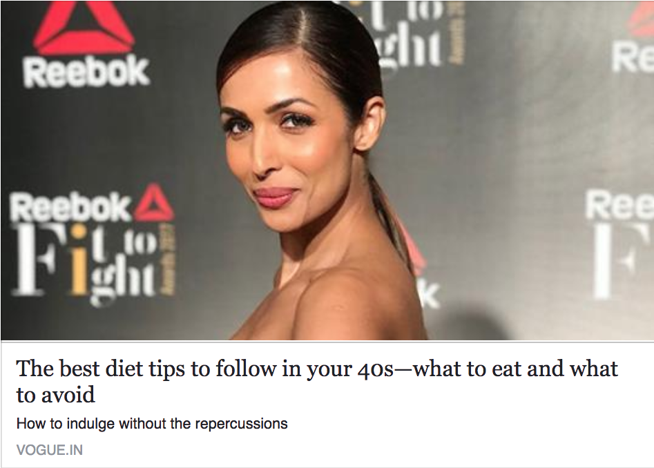 The best diet tips to follow in your 40s—what to eat and what to avoid
