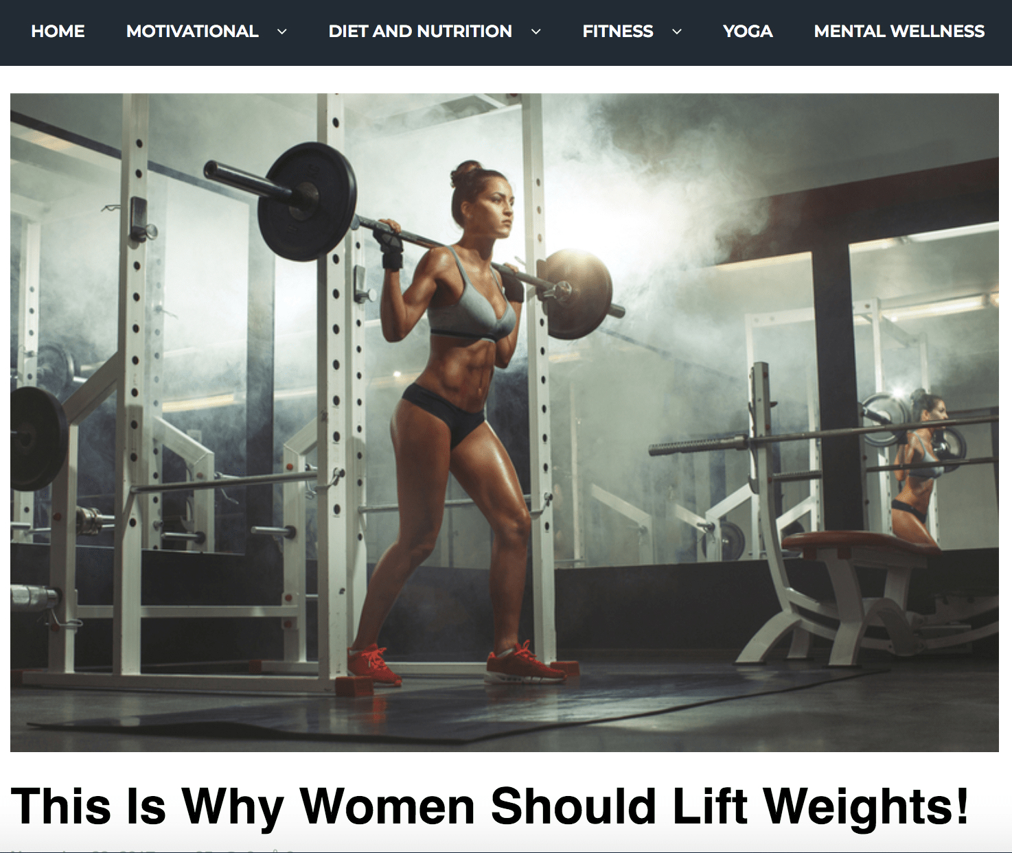 This Is Why Women Should Lift Weights