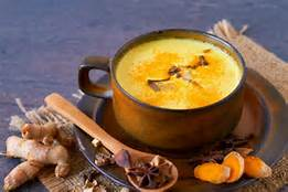 Healty turmeric golden milk