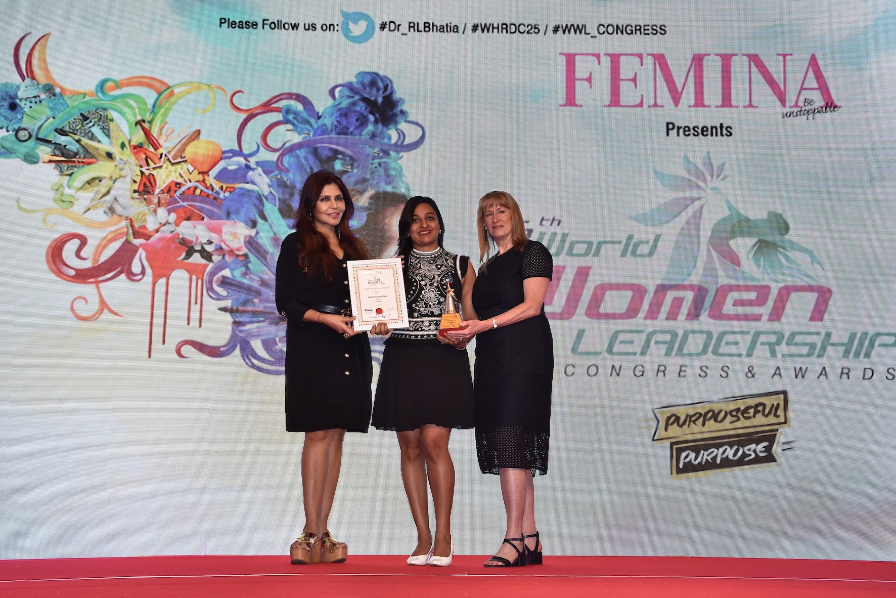 Femina Award won by Munmun Ganeriwal