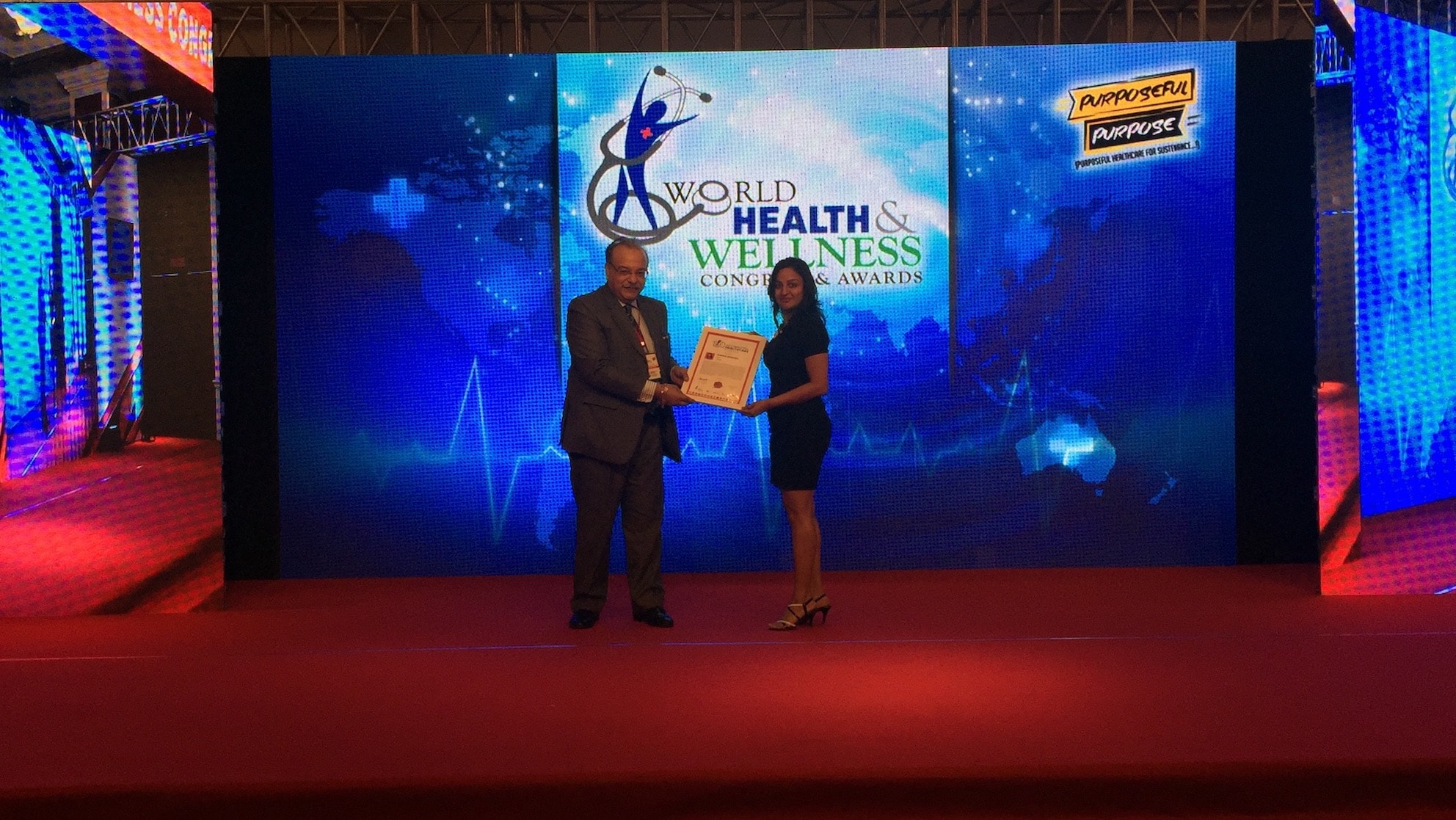 Most Impactful healthcare award